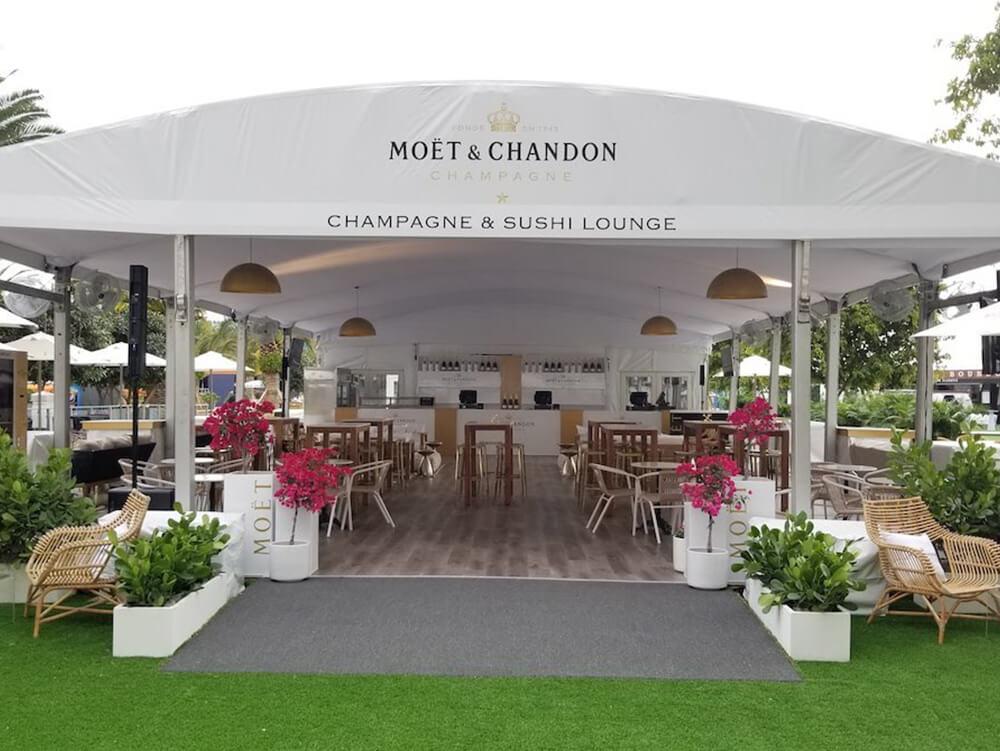 Moet Miami Open Lounge