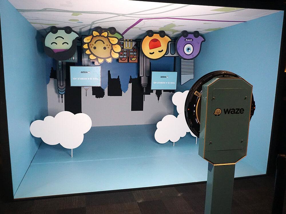 Waze, Advertising Week NYC