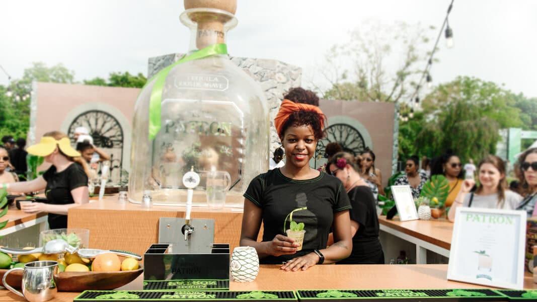 Tequila Patron Brand Activation
