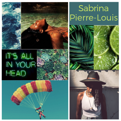 Out team, Sabriana Pierre-Louis